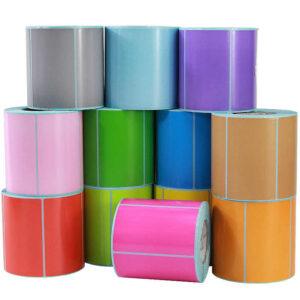 Procurare etichete colorate mari in rulouri   Etichete.eu