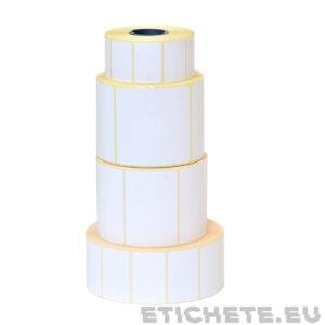 Cumpără etichete termice în rulouri pe un rind   Etichete.eu